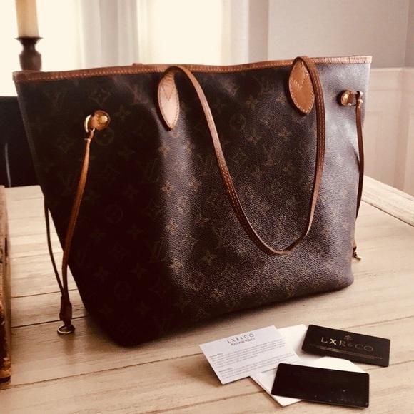 a33c0cb33fb5 Louis Vuitton Handbags - Pre-Loved Louis Vuitton Neverfull MM